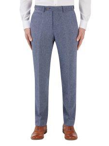 Jude Suit Tapered Trouser Blue Herringbone