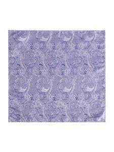 Lilac Paisley Pocket Square