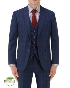 Suddard Suit Jacket Navy Check