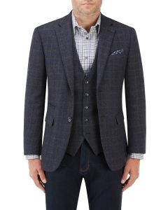 Hanagan Jacket Blue Check