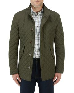 Pembridge Quilted Coat Olive