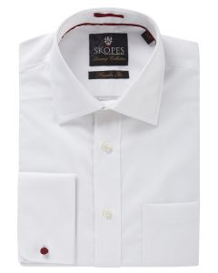 Luxury White Formal Shirt