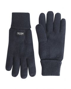 Max Knitted Navy Gloves