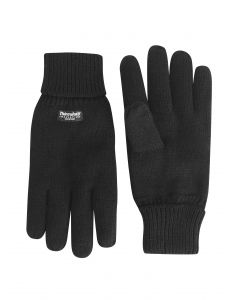 Max Knitted Black Gloves
