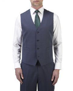 Palmer Suit Waistcoat Blue