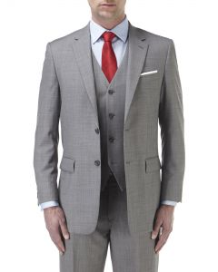 Palmer Suit Jacket Silver