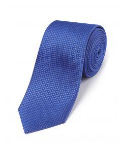 Royal Blue Textured Silk Tie