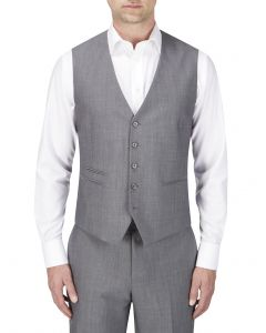 Reagan Suit Waistcoat Dark Grey