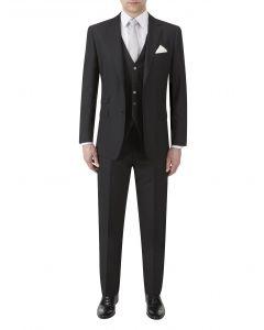 Milmoor Wool Suit Black
