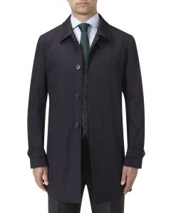 Ledbury Raincoat Navy