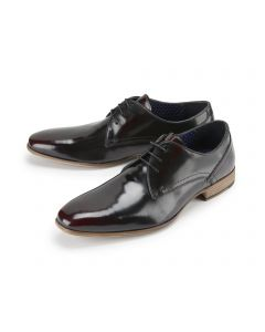 Oxblood High Shine Formal Shoes