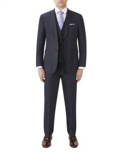 Theodore Suit Navy Check