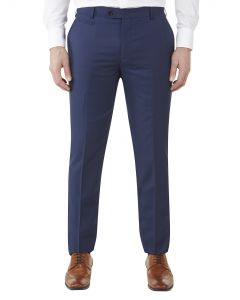 Milan Tapered Suit Trouser Blue