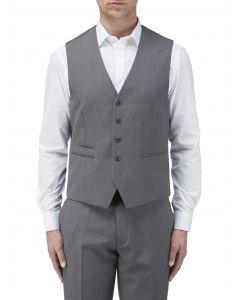 Madrid Suit Waistcoat Grey