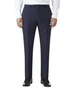 Harcourt Slim Suit Trousers Navy