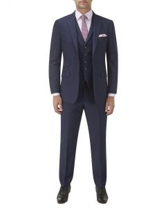Balthazar Suit Navy Check