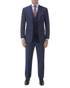 Bowles Suit Navy Stripe