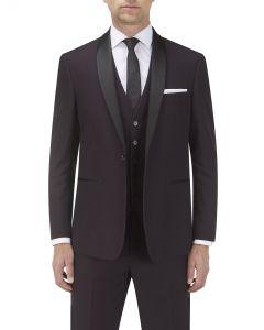 Bruno Suit Jacket Wine