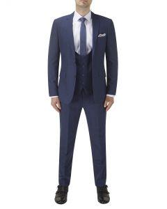 Melville Suit Blue Check