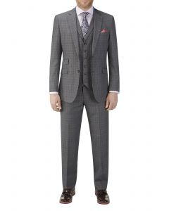 Warley Suit Grey Check