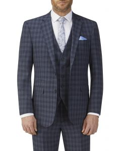 Barletta Check Suit Jacket