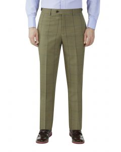 Goodwood Check Suit Tapered Trouser