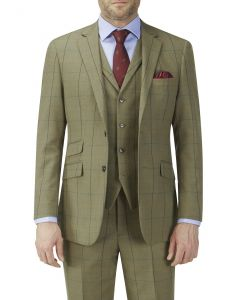 Goodwood Check Suit Jacket