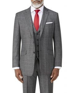 Kolding Classic Suit Jacket Charcoal Check