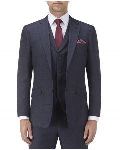 Staunton SB Suit Jacket Navy Check