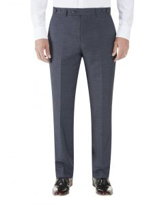 Staunton Suit Slim Trouser Navy Check