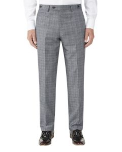 Kolding Tailored Suit Trouser Grey / Blue Check