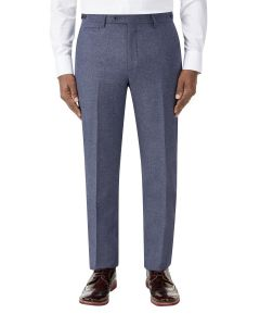 Bremner Tweed Suit Trouser Blue