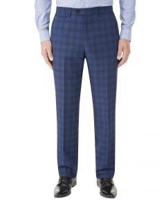 Felix Suit Tailored Trouser Blue Check