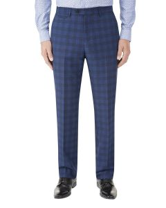 Felix Suit Slim Trouser Blue Check