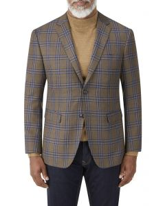 Randers Jacket Brown Check