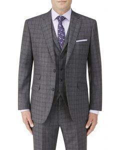 Agden Suit Jacket Grey Check