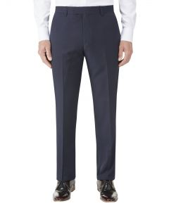 Nyborg Suit Slim Trouser Navy Micro Check