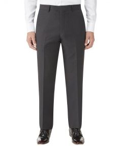 Nyborg Suit Tailored Trouser Charcoal Micro Check