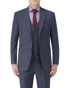 Sonderborg Suit Jacket Navy Multi Check