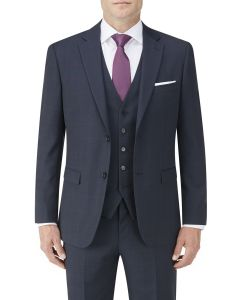 Wentwood Suit Jacket Navy Check