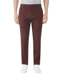 Antibes Tapered Chino Mulberry
