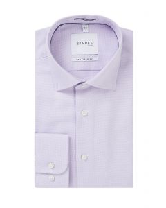 Luxury Formal Shirt Tailored Lilac