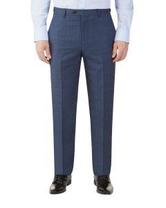 Sheldon Suit Tailored Trouser Blue Check