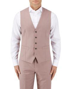 Sultano Suit SB Waistcoat Mink