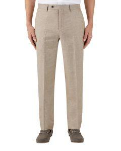 Lagasse Linen Blend Suit Trouser Stone