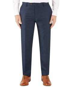 Santini Suit Tapered Trouser Navy