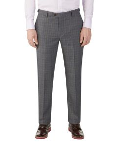 Witton Suit Slim Trouser Grey Check
