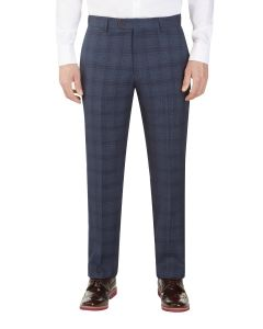 Minworth Suit Tailored Trouser Blue Check