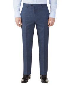 Sheldon Suit Slim Trouser Blue Check