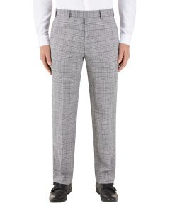 Keenan Suit Tailored Trouser Silver / Grey Check